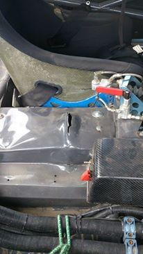 Mellomakselen som kom opp i bilen. Foto: Hans-Ola Frøshaug