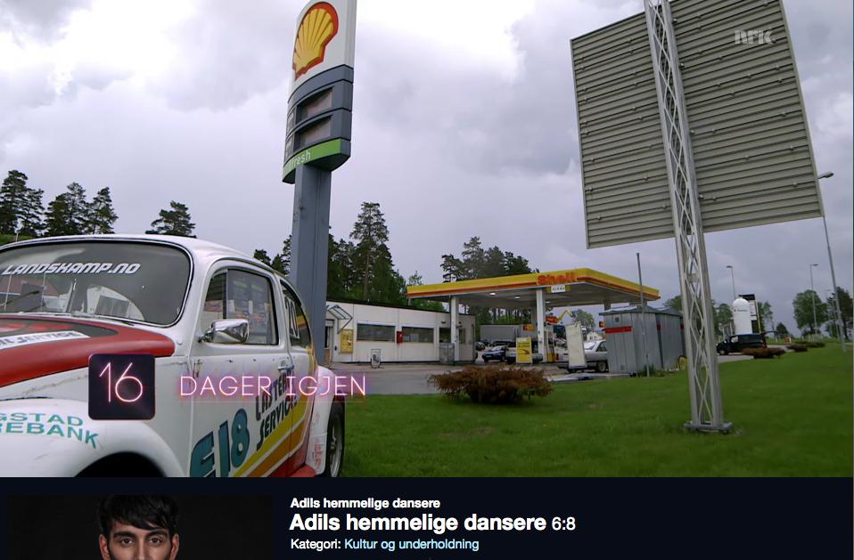 Landskamp og E18 lasterbilservice fikk litt tv-tid på Adils dansere på NRK.