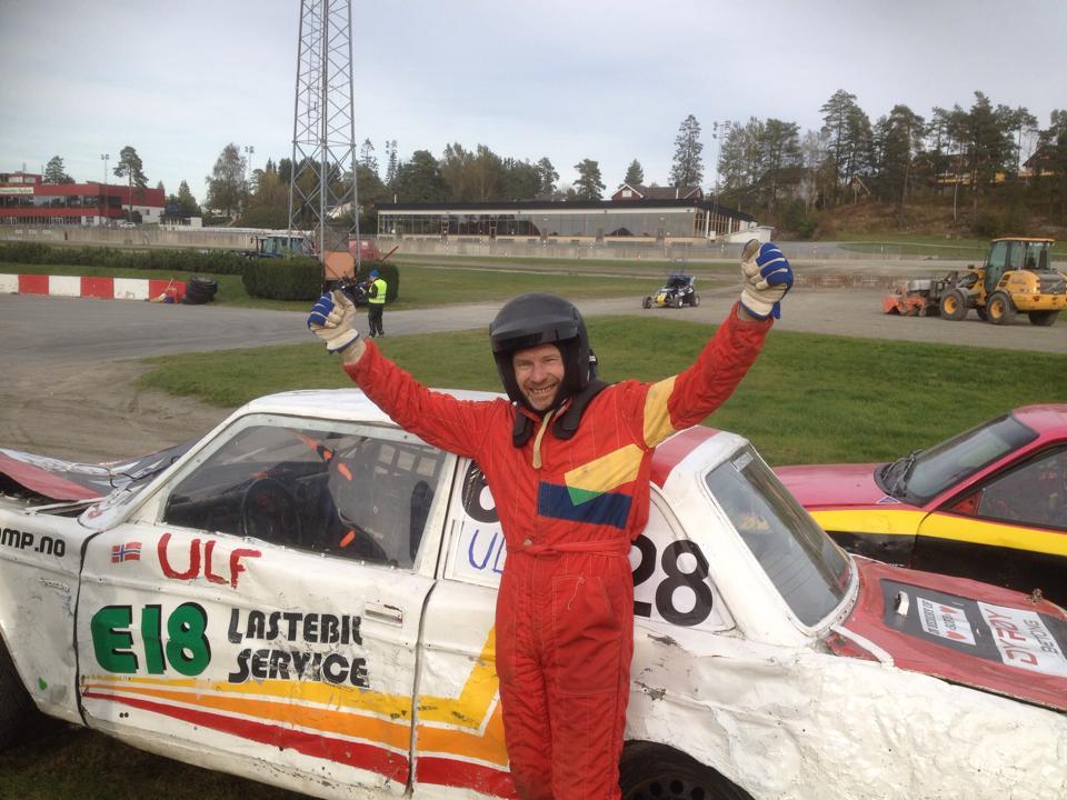 Ulf jubler over sin første seier